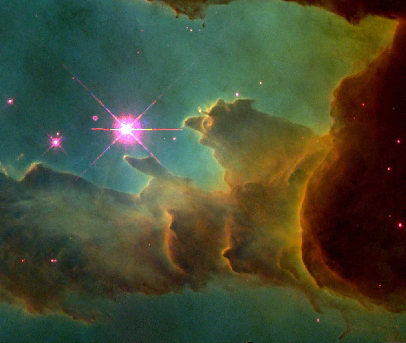 eagle eye nebula