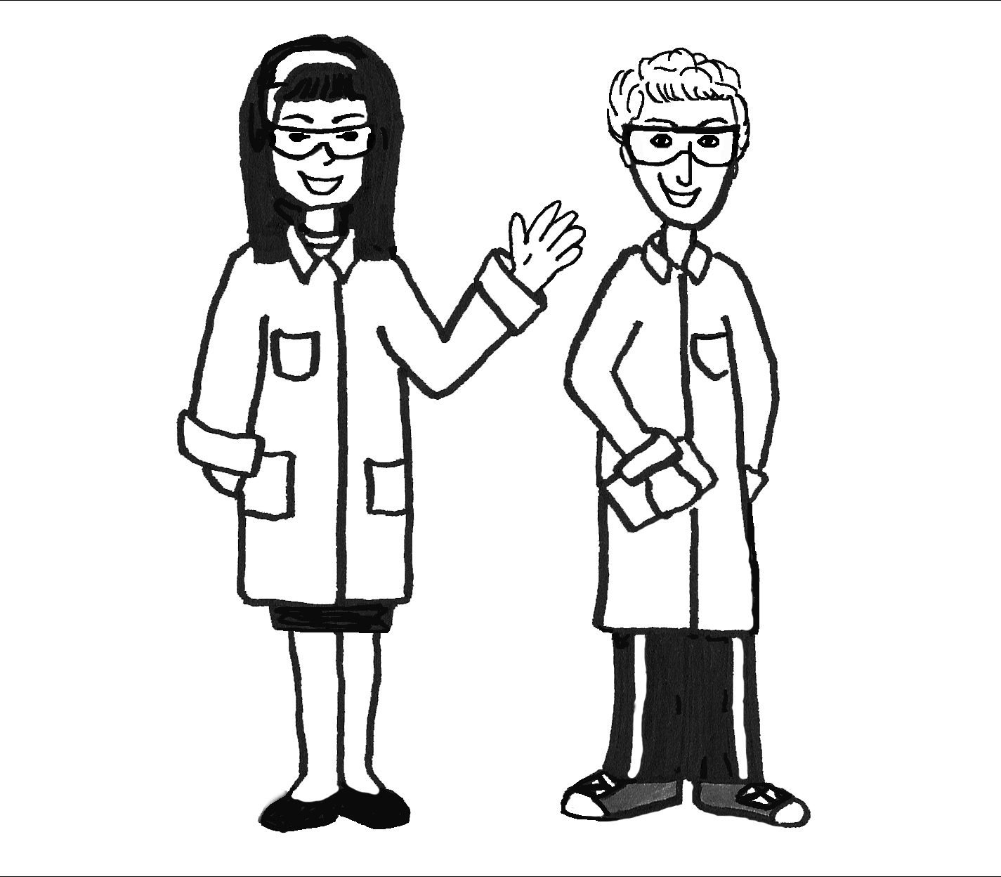 safety equipment coloring pages | Science Lab Safety Comics Sketch Coloring Page